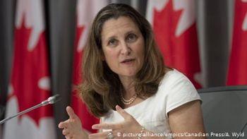 Христя Фріланд стала першою жінкою на посаді міністра фінансів Канади