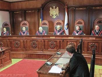 Конституційний суд Молдови проти президента