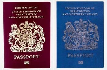 Нові паспорти британців після Brexit'у