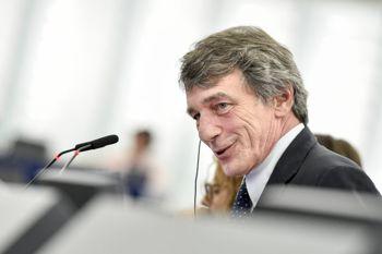 Президентом Європарламенту обрали італійця Сассолі